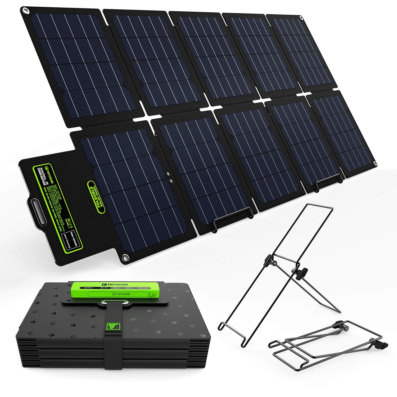 Topsolar SolarFairy 60W Portable Foldable Solar Panel Charger Kit