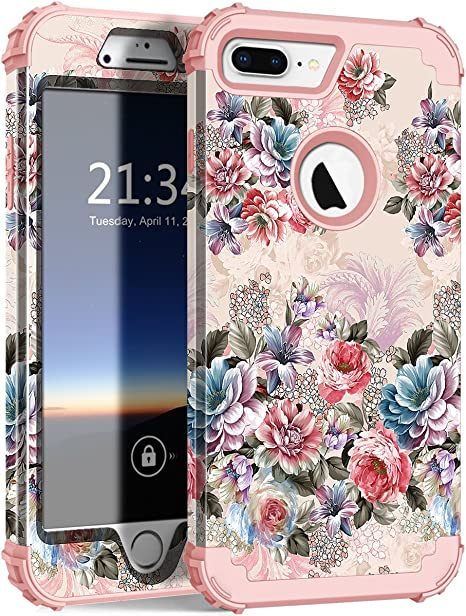 Flowers Protective Case for iPhone 7