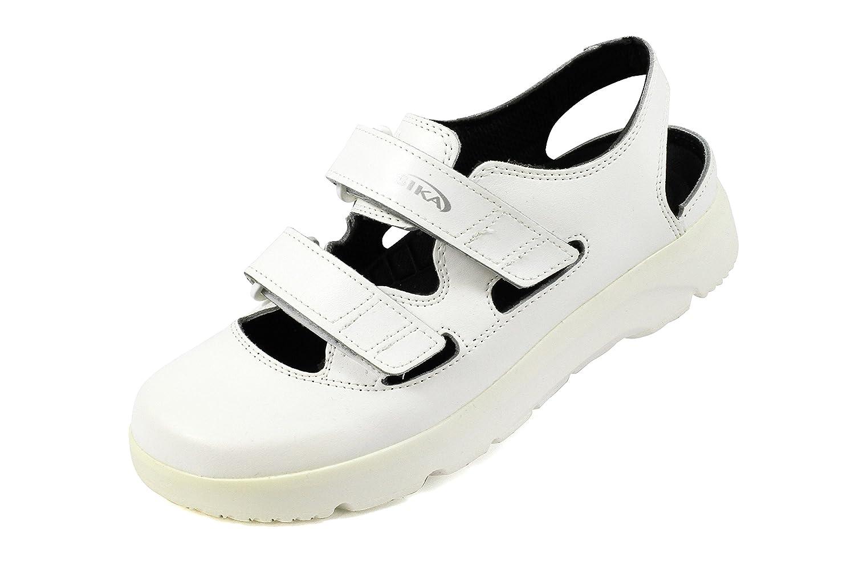 Si OptimaX sandalia blanco + SRA + negro 191 37