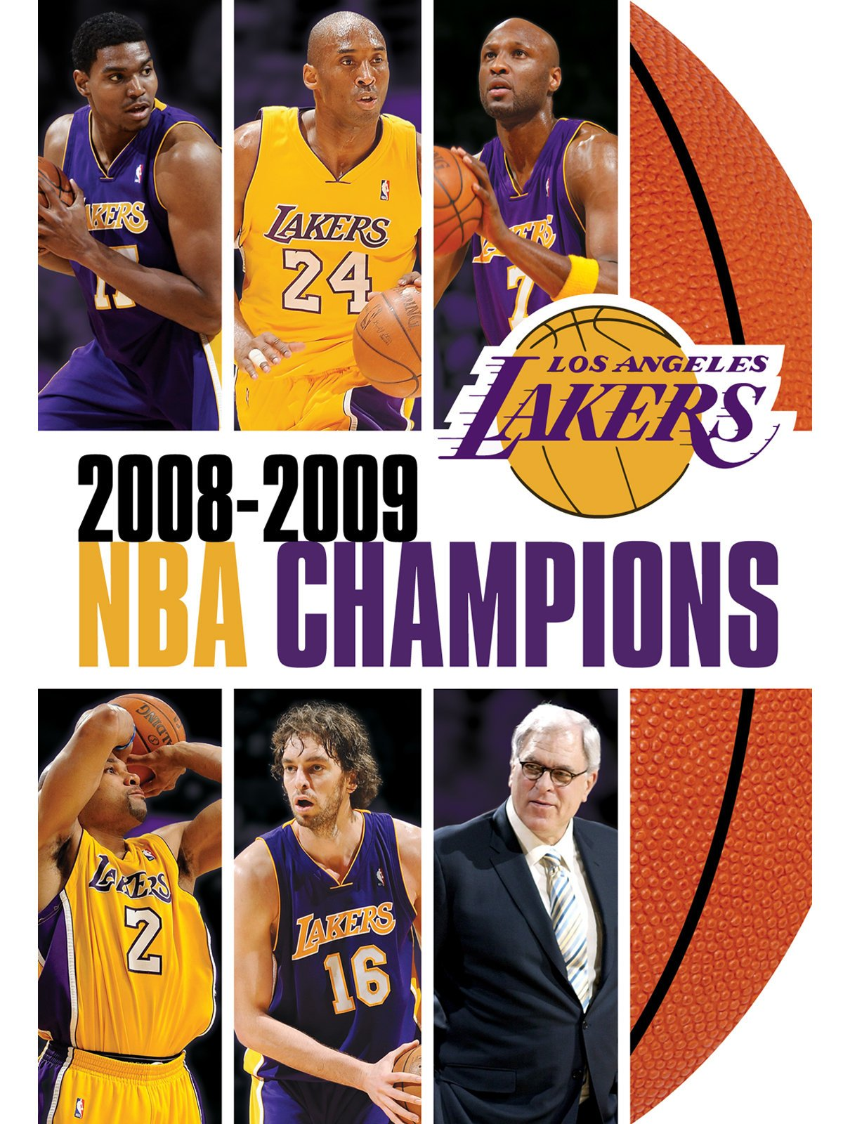 ... Amazon.com 2008-2009 NBA Champions - Los Angeles Lakers Kobe Bryant 8d328749a