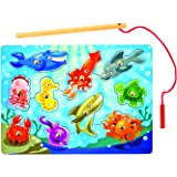 Melissa and Doug Fishing Magnetic Puzzle Game (10 Piece)