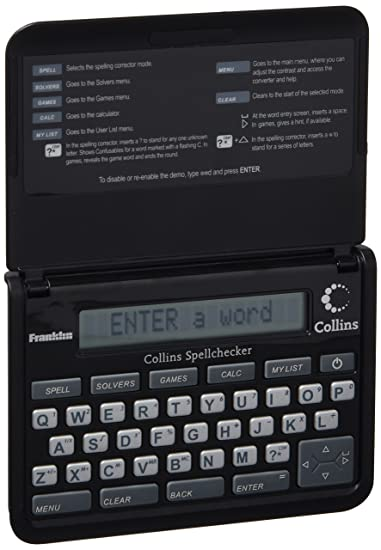 Franklin- Spq109 Collins Pocket Speller