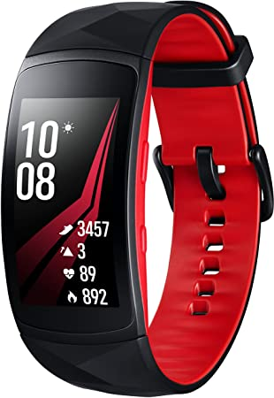 Samsung - Gear Fit 2 PRO - Taille-Small - Rouge (Import Allemagne)