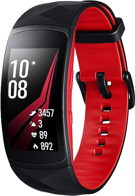"Samsung SM-R365 Reloj Inteligente Negro, Rojo SAMOLED 3,81 cm (1.5"""