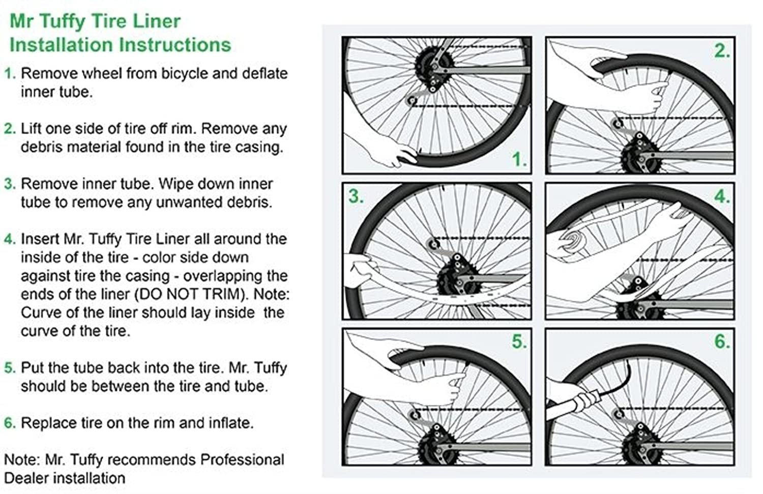 Amazon.com   Mr. Tuffy Bicycle Tire Liner   Sports   Outdoors 81b370bd0