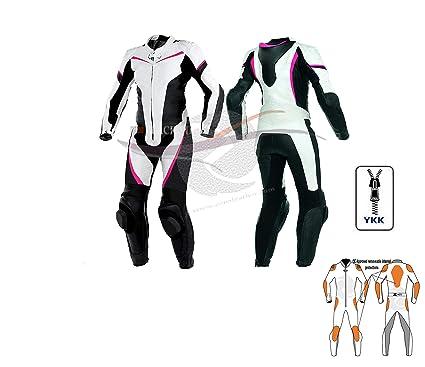 Zens - Traje de piel para mujer y motocicleta, traje de moto ...