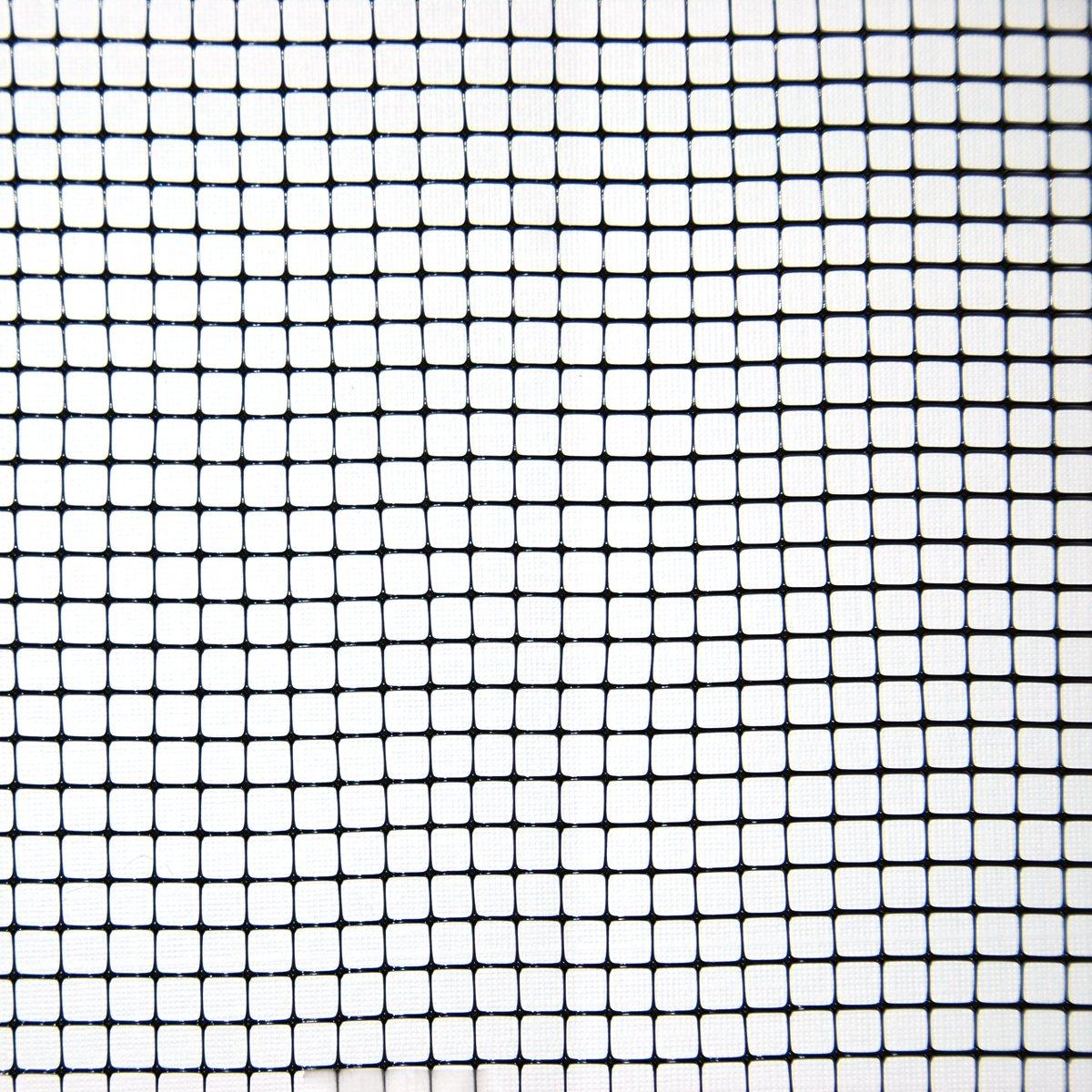 Industrial Netting OV7100-168x100 Polypropylene Beetle Net, 1/6'' Mesh, 100' Length x 14' Width, Black