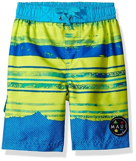 9001e3027a Amazon.com: Maui & Sons Boys Swim Trunk: Clothing