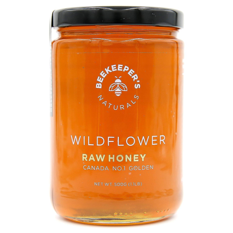 Wildflower Raw Honey by Beekeeper's Naturals