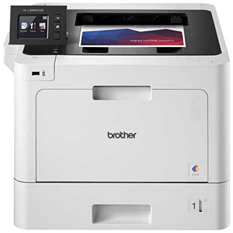 Brother Business Color Laser Printer, HL-L8360CDW, Wireless Networking,  Automatic Duplex Printing, Mobile Printing, Cloud printing, Amazon Dash