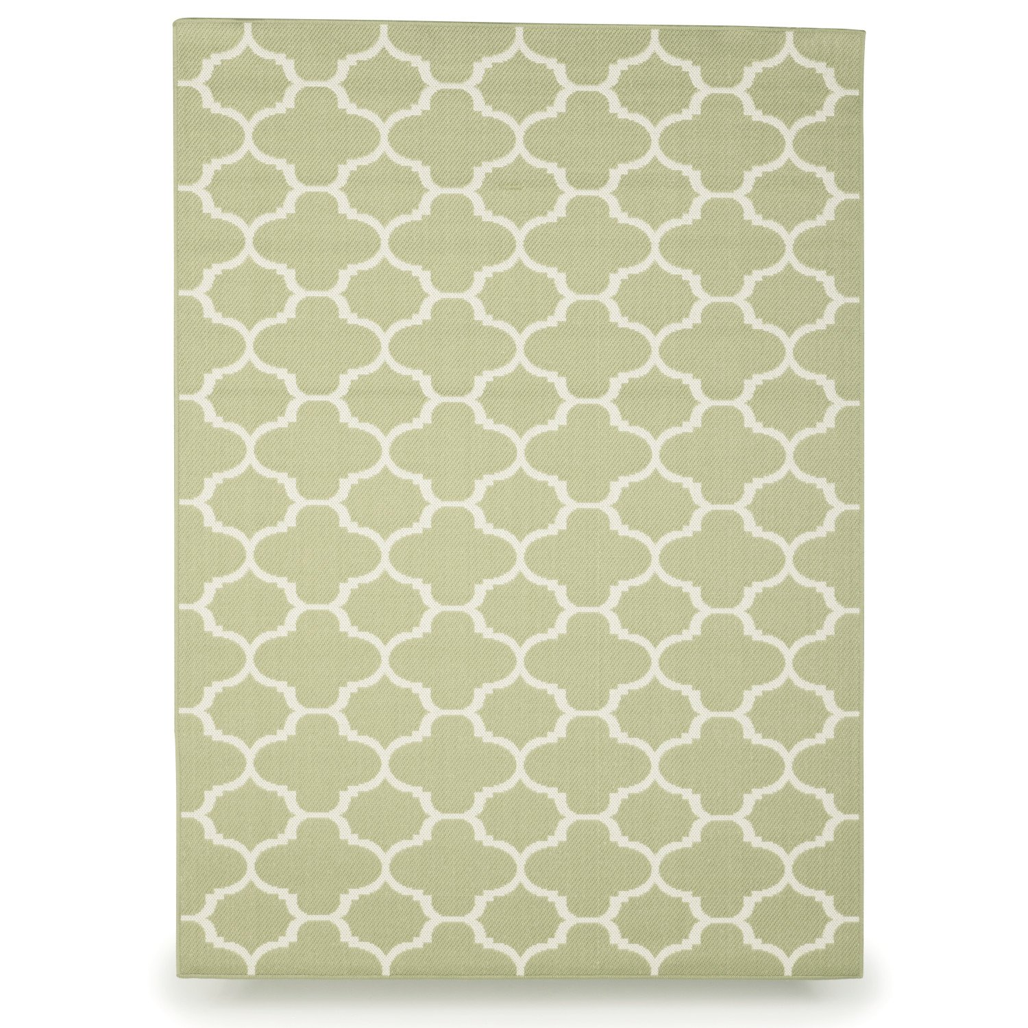 Budge Winchester Outdoor Patio Rug, RUG810SG3 (8' Long x 10' Wide, Sage Green) by Budge