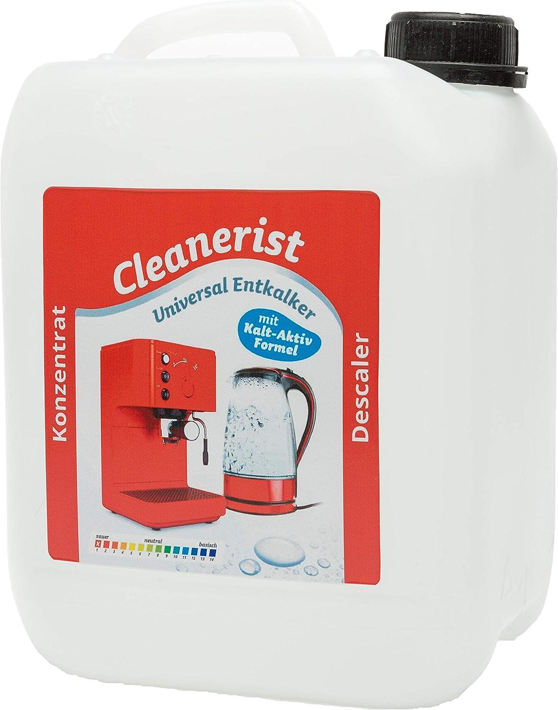 10 litros cleanerist descalcificador I – Cafetera automática I I ...