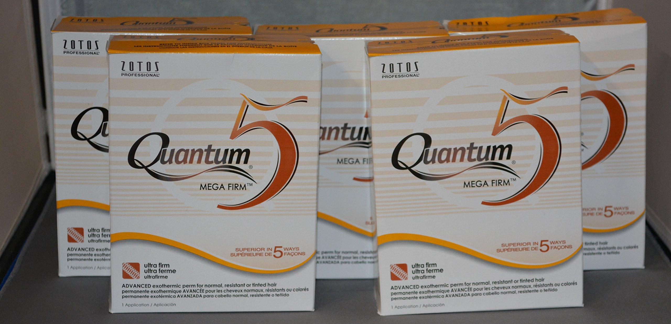 Quantum 5 Mega Firm Exothermic Perm (5 Pack)