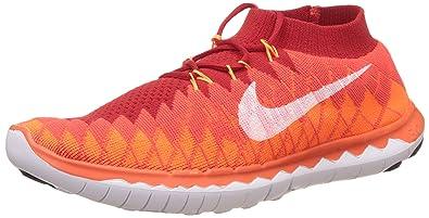 competitive price 88917 6bda0 Nike Men s Free Flyknit 3.0 Orange Running Shoes - 9 UK India (44 EU