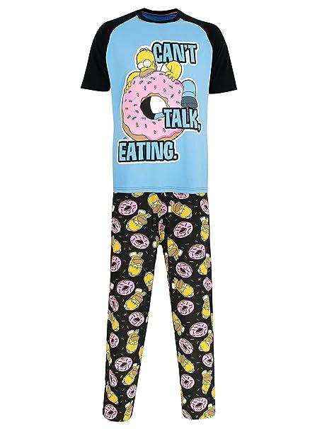 Los Simpsons - Pijama para Hombre - Homer Simpson - Small