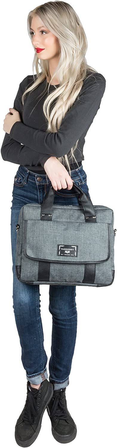 Latitude Latitude Education WGS 11 Inch Briefcase Shoulder Messenger Bag Tote for Dell Inspiron 13 Vostro 13 Latitude Rugged XPS Series with Wireless Mouse and Headphone