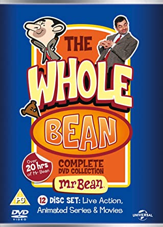 Amazoncom Mr Bean The Whole Bean Complete Collection Dvd