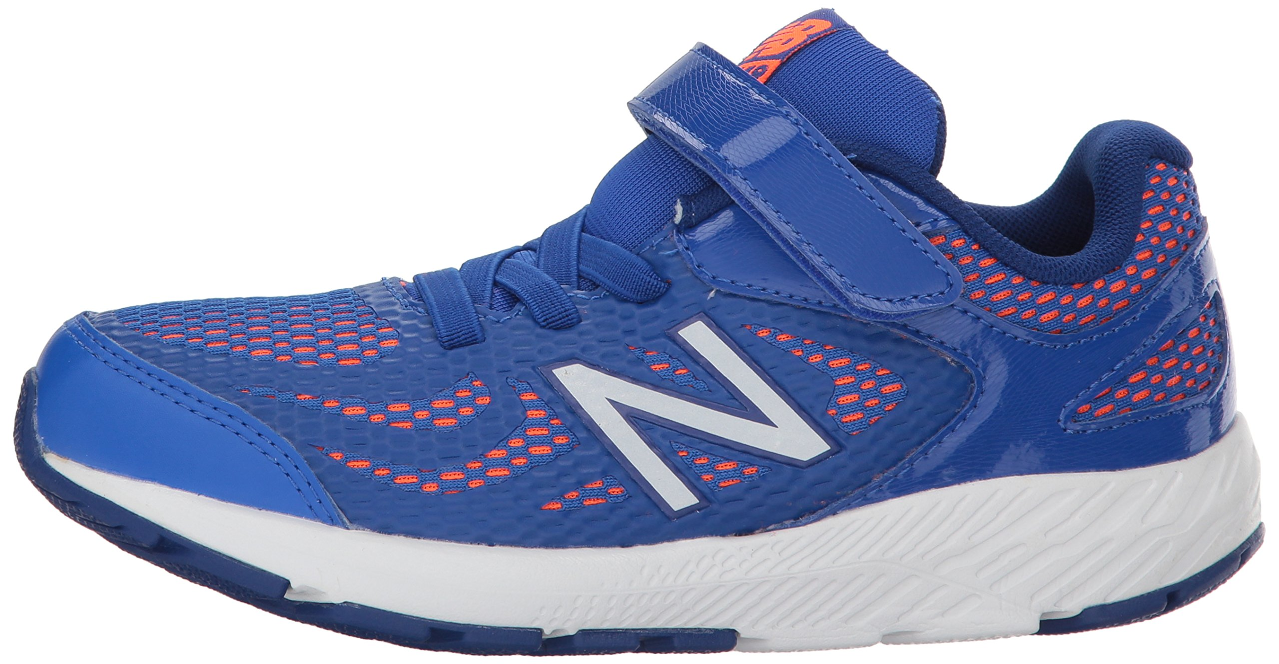 New Balance Boys' 519v1 Hook and Loop Running Shoe Pacific/Dynomite 2 M US Infant by New Balance (Image #5)