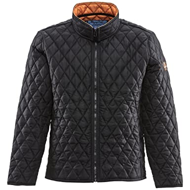 RefrigiWear Lightweight Diamond Quilted Jacket at Amazon Men's ... : mens lightweight quilted jacket - Adamdwight.com
