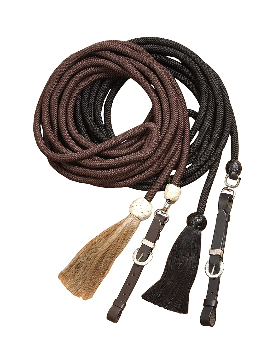 Black Tough 1 Royal King Braided Mecate Rope Lunge Line