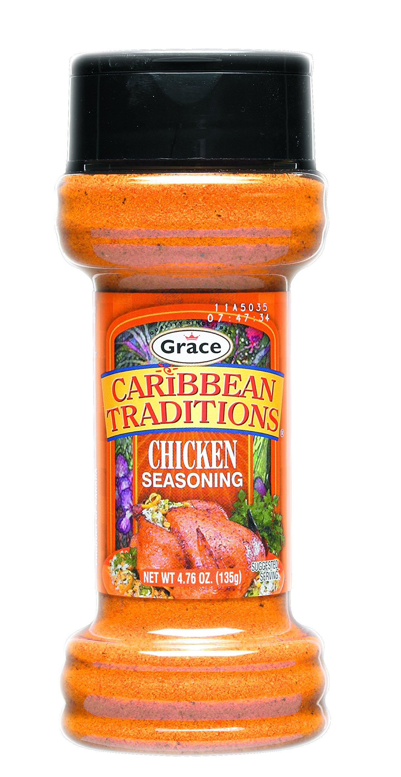 Grace Chicken Seasoning 12 Pack x 6oz by Grace
