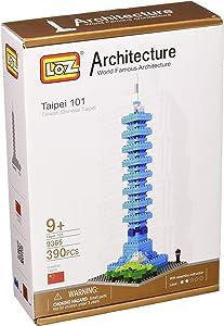 LOZ Building & Construction 9365 Taipei 101 Building Blocks (390 Piece)