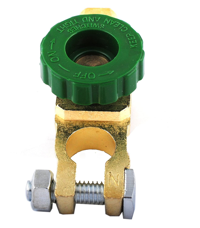6-24 V Kill Switch Ersatz Trennschalter Isolator-Schutzschalter Negativklemme Wohnmobile 125 A LKW Wadoy Batterie-Trennschalter f/ür PKW