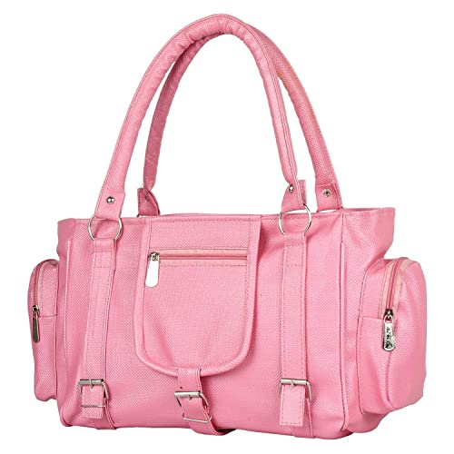 0ea73aa502 Paras Fashions Stylish Baby Pink Color Synthetic Leather Shoulder Bag For  Girls Handbag for Women  Amazon.in  Shoes   Handbags