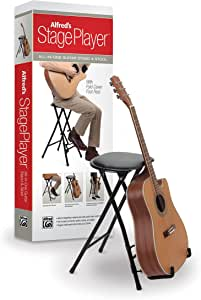 Alfred's StagePlayer Guitar Stand and Stool