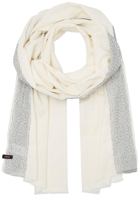 Cinque Damen Schal Cibaila, Weiß (Weiß 01), One Size (Herstellergröße: 0)