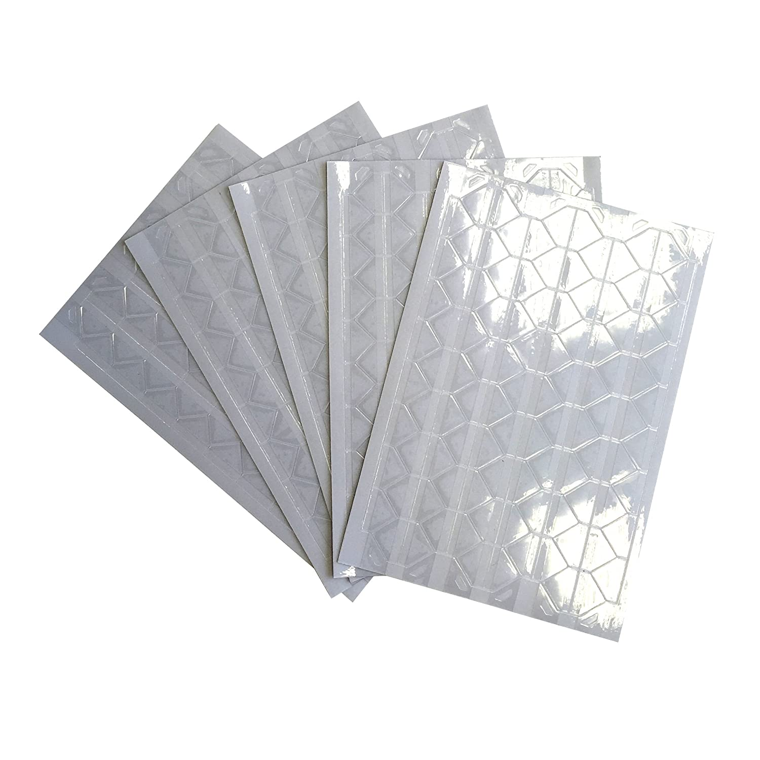 Photo Corners - Set of 510 in Clear for Scrapbooking, Journalling, Photo Albums etc. Whimsy Designs