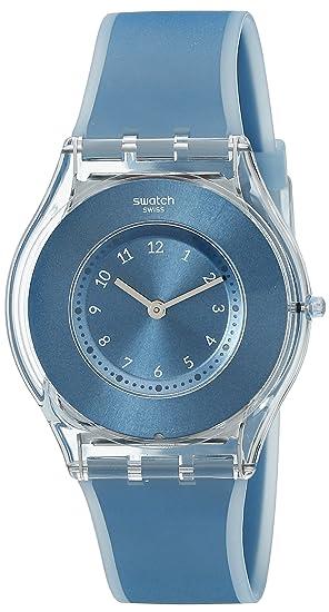 Swatch Reloj Digital de Cuarzo Unisex con Correa de Silicona - SFS103: Amazon.es: Relojes