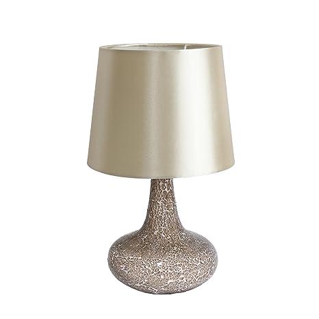 Amazon.com: Simple Designs LT3039-RED - Lámpara de mesa con ...