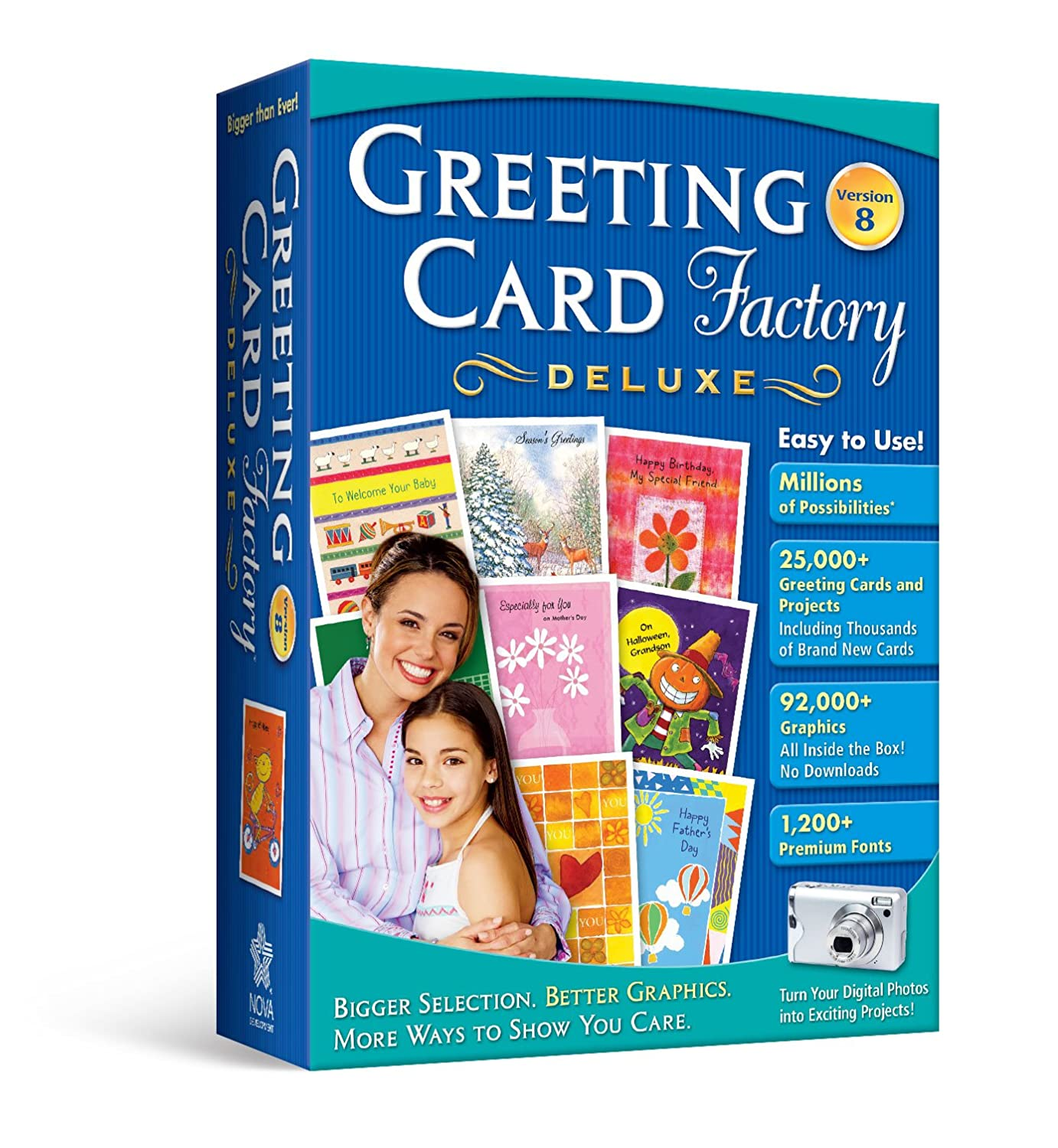Amazon Greeting Cards Home Publishing Software