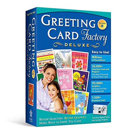 Greeting card factory deluxe 80 amazon software greeting card factory deluxe 80 m4hsunfo