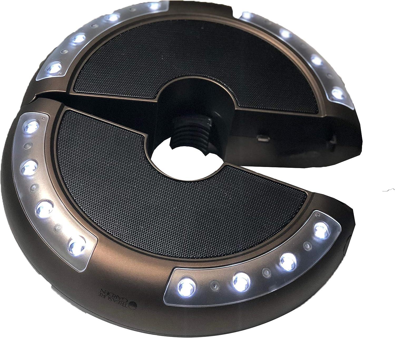 Treasure Garden Luna Light for Under The Umbrella with Bluetooth Speaker producing Great Sound
