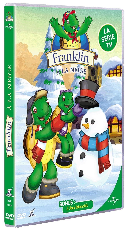 Franklin franklin à la neige dvd blu ray amazon fr