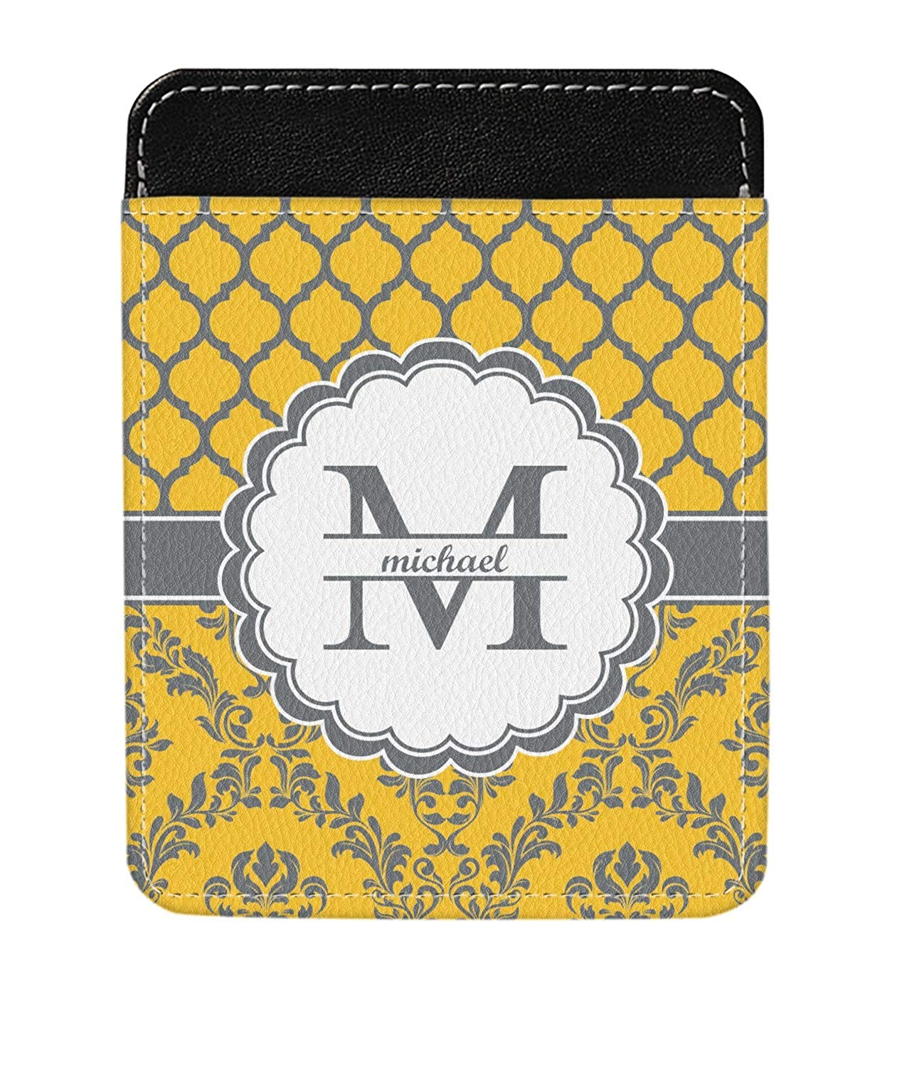 Damask /& Moroccan Genuine Leather Money Clip Personalized