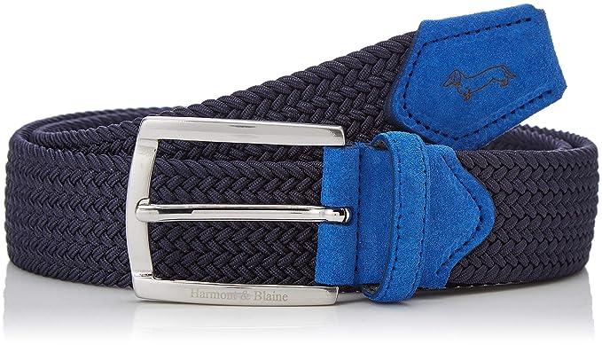 vendita a buon mercato nel Regno Unito più amato prezzo folle Harmont & Blaine Cintura, Blu (831 Italia), Taglia produttore:50 ...