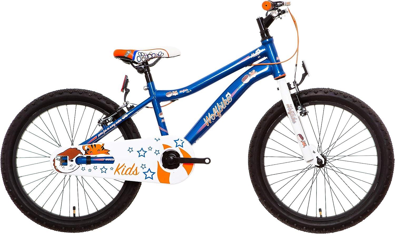 Wolfbike AVI-20 Bicicleta Infantil, Niños, Azul, 10: Amazon.es ...