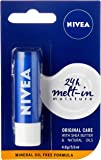 NIVEA Lip Balm, Original Care, 4.8g