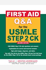 First Aid Q&A for the USMLE Step 2 CK, Second Edition (First Aid USMLE) Kindle Edition