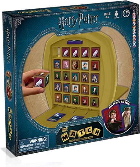 Valigetta TIn Grif Gioco da Tavolo Top Trumps Harry Potter 29995 ITALIANO