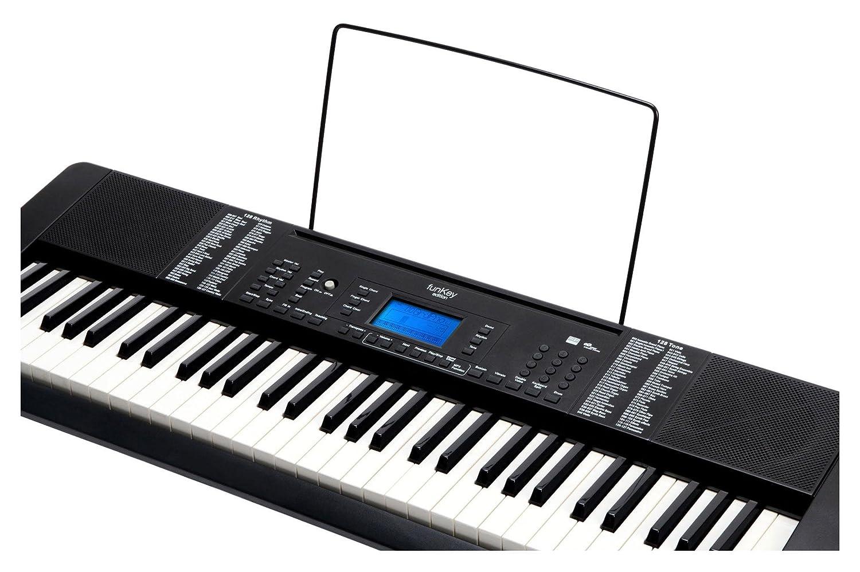 FunKey 61 - Teclado Edición Pro, color negro: Amazon.es: Instrumentos musicales