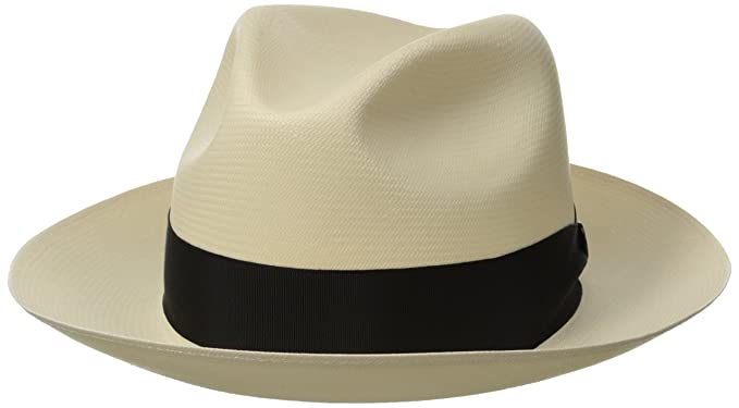 Stetson Men s Breakers Premium Shantung Straw Hat at Amazon Men s ... 3da55b9cb66