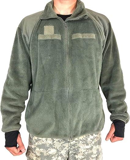 US Fleece Jacke GEN III Level 3 Cold Weather Military Outdoor Army Jacket Foliag