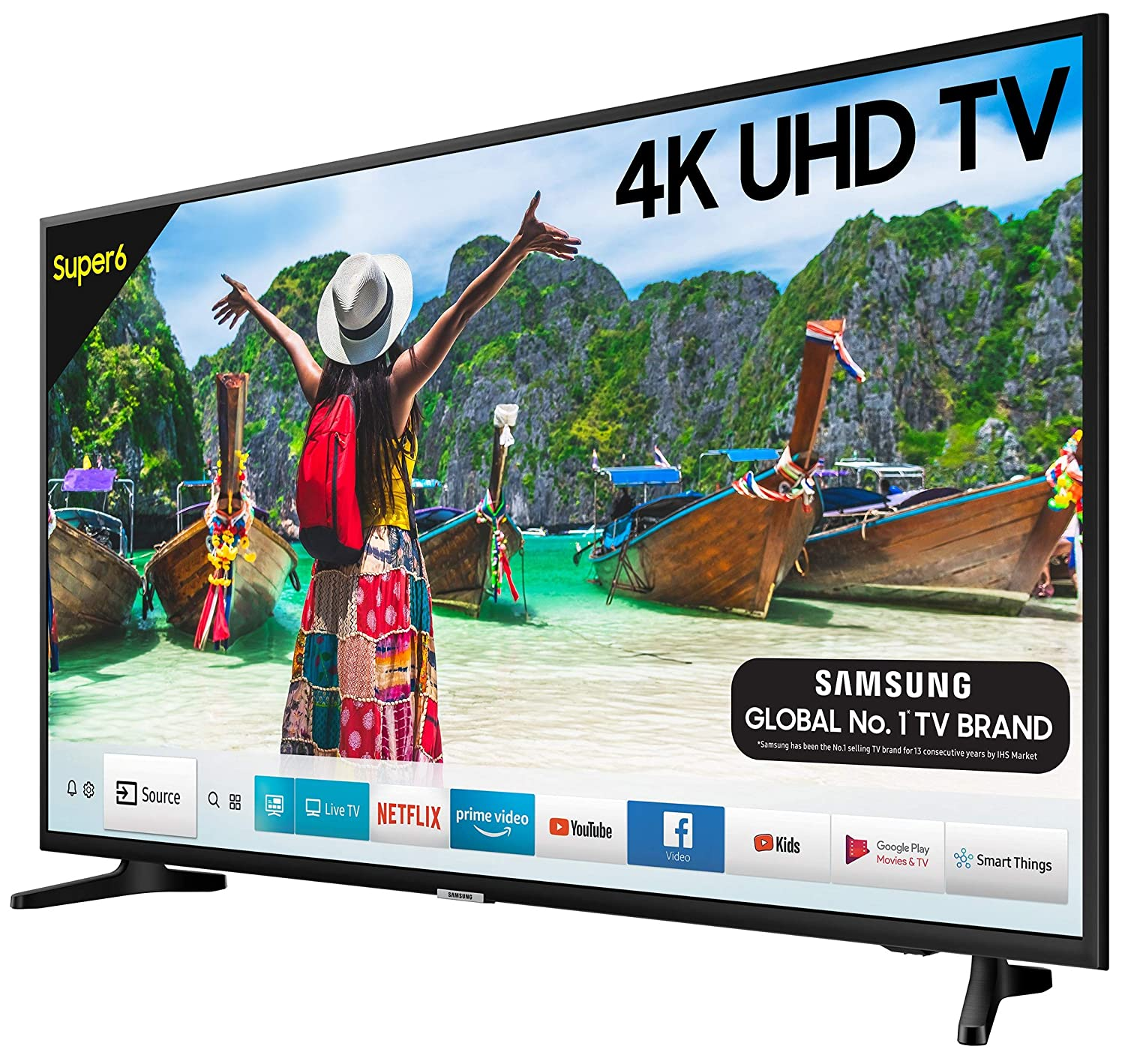Samsung 125 cm (50 Inches) Super 6 Series 4K UHD LED Smart TV