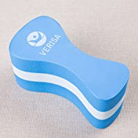 Pull Buoy, Foam Pull Float, Correct Swim Posture and gain arm strength, Aqua Flotation Device Swimming Training Aid for Adults Seniors kids BLUE by Verisa