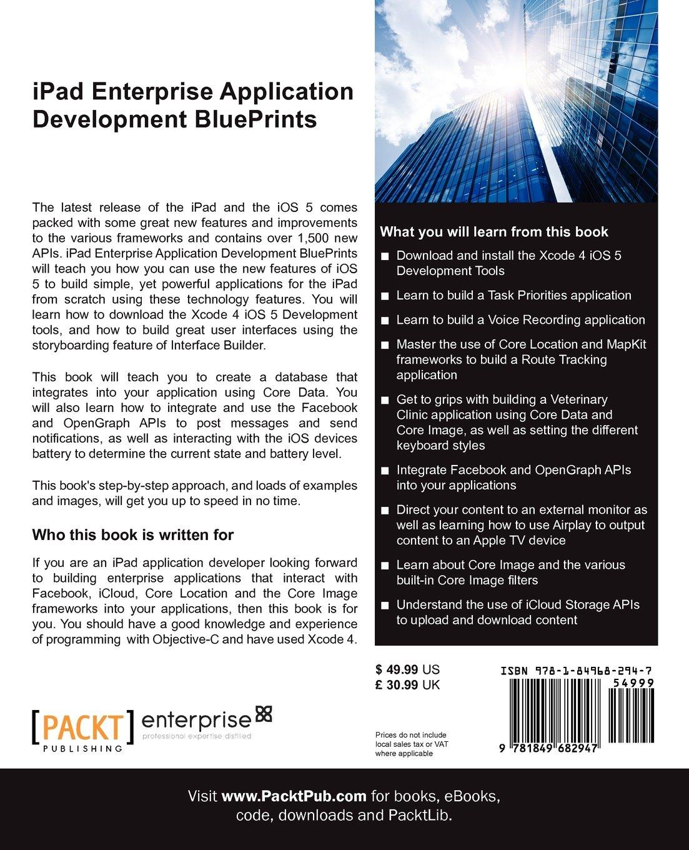 Get e-book IPad Enterprise Application Development BluePrints