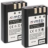 2x Batteries EN-EL9 pour Nikon D40, D40x, D60, D3000, D5000